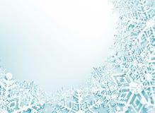 Carta del nuovo anno e di Natale Fotografia Stock