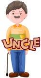 Carta del tío Imagen de archivo libre de regalías