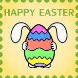 Carta dell'annata di Pasqua Immagine Stock