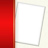 Carta dell'invito Fotografia Stock Libera da Diritti