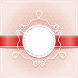 Carta dell'invito Fotografia Stock