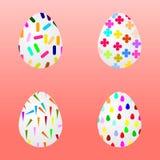 Carta dell'uovo di Pasqua Illustrazione Vettoriale