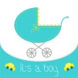 Carta della doccia del neonato Fotografia Stock