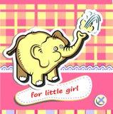 Elefante divertente Fotografia Stock Libera da Diritti