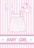 Carta della neonata illustrazione vettoriale