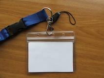 Carta di accreditamento fotografia stock libera da diritti