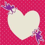 Carta di amore Immagini Stock Libere da Diritti