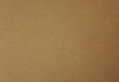 Carta di Brown, fondo di struttura del cartone Fotografia Stock Libera da Diritti