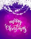 Carta di Buon Natale illustrazione vettoriale