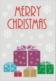 Carta di Buon Natale Immagine Stock