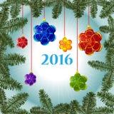 Carta di Buon Natale Immagini Stock Libere da Diritti