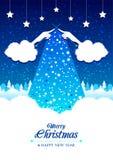 Carta di Buon Natale Immagini Stock