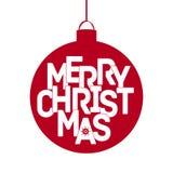 Carta di Buon Natale - EPS10 Fotografia Stock