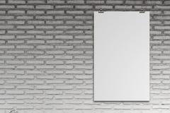 Carta di carta in bianco 3d Immagini Stock Libere da Diritti