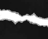Carta di carta e lacerata strappata Fotografie Stock