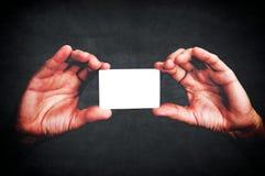 Carta di chiamata fotografia stock libera da diritti