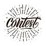Carta di concorso fotografia stock libera da diritti