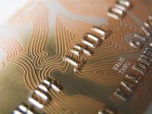 Carta di credito Immagine Stock