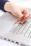 Carta di credito immagini stock libere da diritti