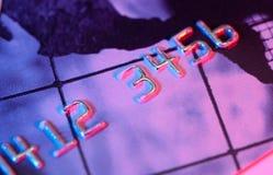 Carta di credito fotografie stock libere da diritti
