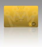 Carta di credito di VIP Fotografia Stock