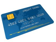 Carta di credito s Illustrazione di Stock