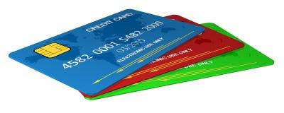 Carta di credito s Immagine Stock Libera da Diritti