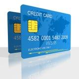 Carta di credito s Illustrazione Vettoriale