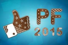Carta 2015 di desiderio del PF Immagine Stock Libera da Diritti