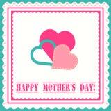 Carta di festa della Mamma Illustrazione Vettoriale
