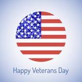 Carta di giornata dei veterani royalty illustrazione gratis