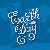 Carta di giornata per la Terra Fotografia Stock