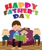 Carta di giorno del ` s del padre Immagini Stock Libere da Diritti