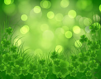 Carta di giorno di St Patrick Fotografie Stock