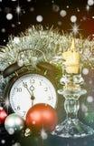 Carta di greetin di Natale Fotografia Stock