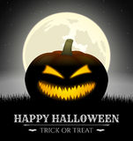Carta di Halloween Immagini Stock Libere da Diritti