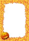 Carta di Hallowen Fotografia Stock