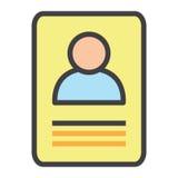 Carta di identità Fotografia Stock Libera da Diritti