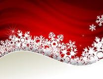 Carta di inverno Fotografia Stock