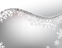 Carta di inverno Immagine Stock