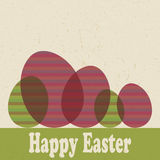 Carta di pasqua royalty illustrazione gratis
