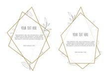 Carta di progettazione floreale di vettore Il saluto, nozze della cartolina invita il modello Struttura elegante con rosa e l'ane illustrazione vettoriale