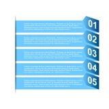 Carta di punto di affari e modello di progettazione di numeri Fotografie Stock Libere da Diritti