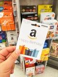 Carta di regalo di Amazon di buon compleanno Immagini Stock