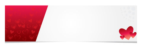 Carta di regalo del ` s del biglietto di S. Valentino Immagine Stock