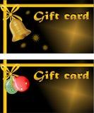 Carta di regalo di Natale illustrazione di stock