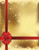 Carta di regalo di Natale Fotografia Stock