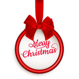 Carta di regalo di Natale ENV 10 Fotografie Stock Libere da Diritti