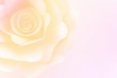 Carta di Rosa con la pendenza fotografia stock libera da diritti