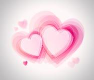 Carta di San Valentino Fotografie Stock